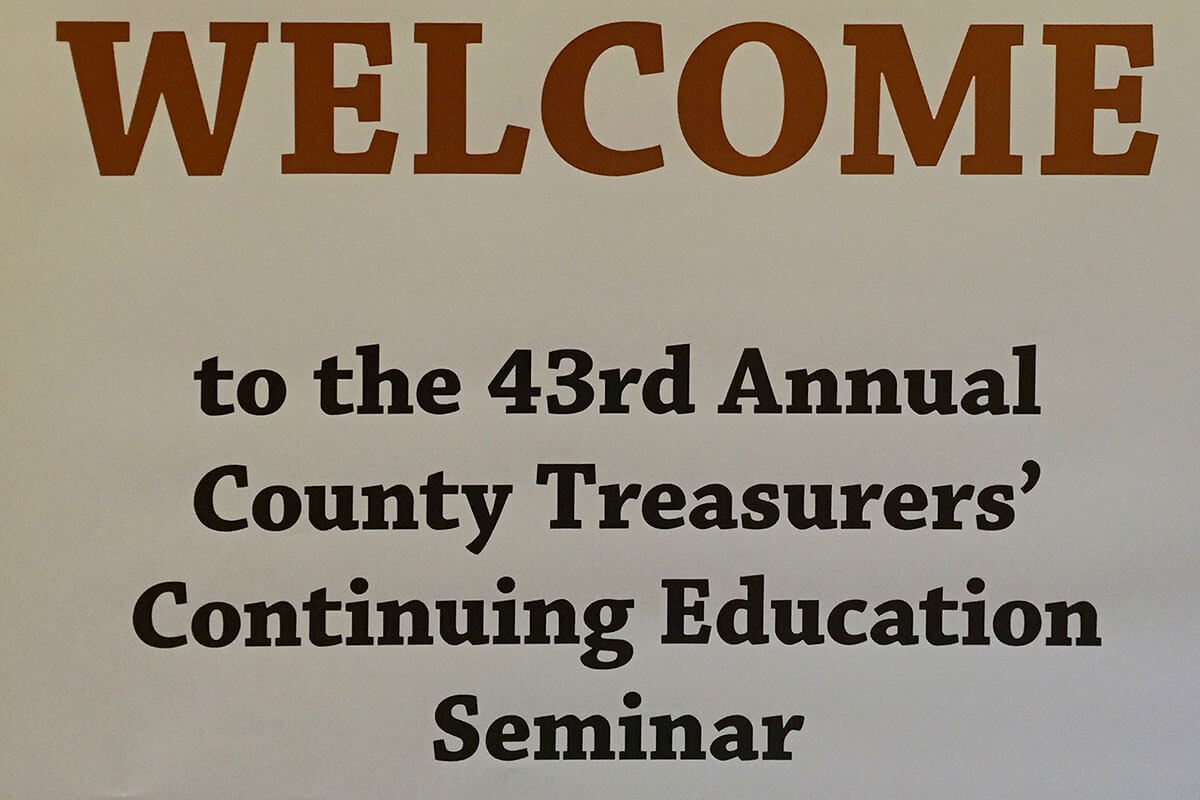 43rd Annual County Treasurers' Continuing Education Seminar